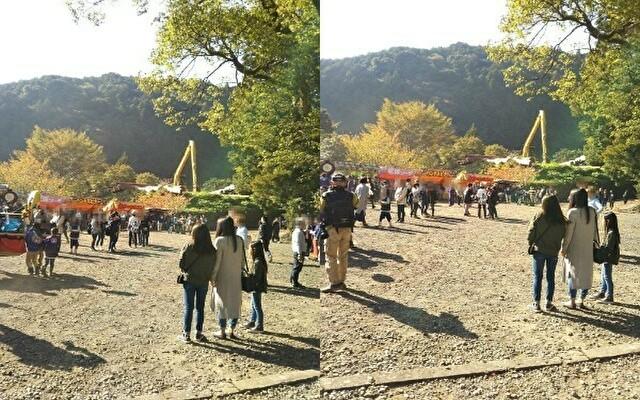 龍神村「荒島神社の秋祭り」9