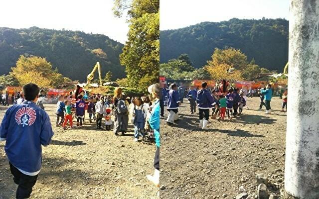 龍神村「荒島神社の秋祭り」10
