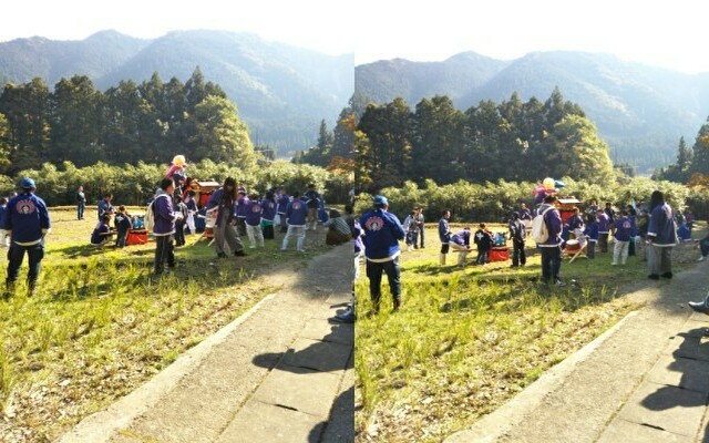 龍神村「荒島神社の秋祭り」11