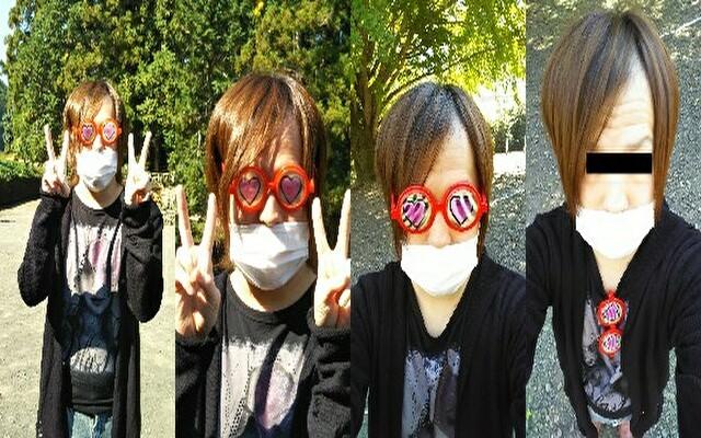 祭りの景品「素っ頓狂な眼鏡」」9