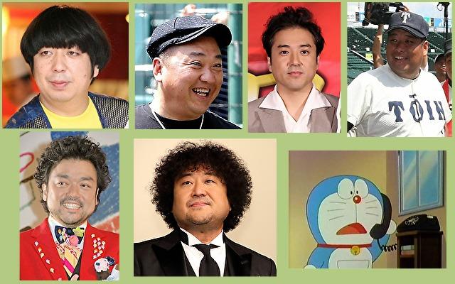体癖10種の男性有名人やキャラクター