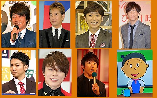 体癖5種の男性有名人やキャラクター