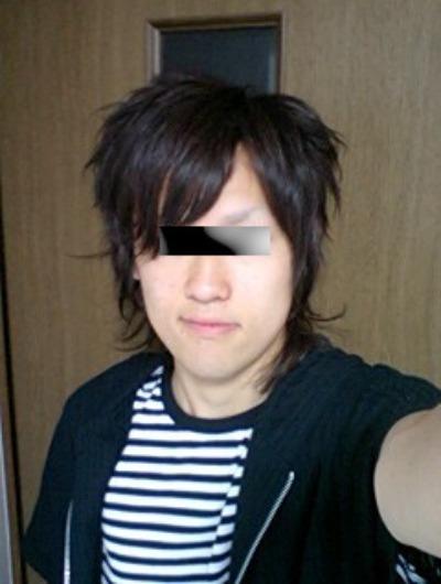 縮毛矯正をかける前の髪型