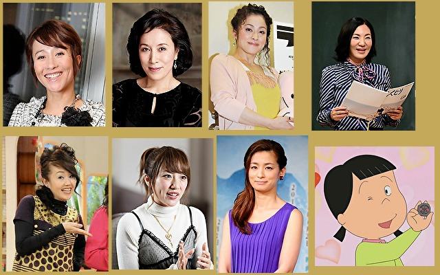 体癖1種の女性有名人やキャラクター